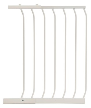Dreambaby Tall Safety Gates Extension White 54cm