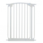 Dreambaby safety gate Chelsea Tall swing closed F190W white