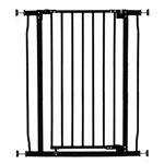 Dreambaby safety gate Liberty Tall with Stay-Open Feature F1962 Black