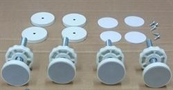 Valco Guardian Safety Gate Hardware Kit White