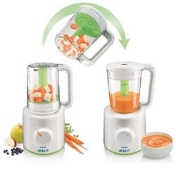 Phillips Avent Scf  Combined Baby Food Steamer And Blender