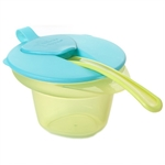 Closer To Nature Explora Cool and Mash Weaning Bowl (4m+)  Blue and Green