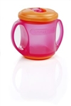 Tommee Tippee Sip n Seal Cup 4m+ 200ml - Orange and Pink