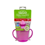Heinz Baby Basics Free Flow Cup 6m+ PINK
