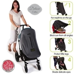 SnoozeShade Original Deluxe Edition - The award winning pram and buggy blackout blind