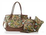 Isoki Carry All Tote - Ginger Bloom