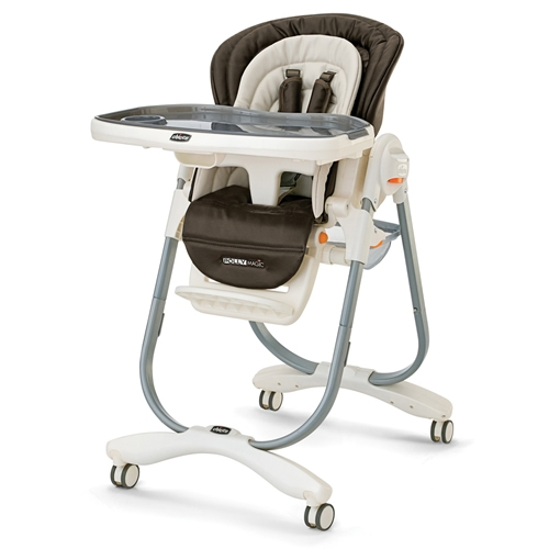 Beau Chicco Polly Highchair Magic Luxe   Rattania