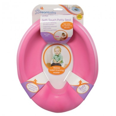 soft touch toilet seat. Dreambaby Soft Touch Potty Seat  Pink Buy Toilet at Gotoddler com au