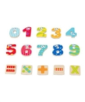Boikido Magnetic  Numbers & Signs - 55pcs