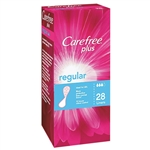 Carefree Plus Incontinence Regular Liners - 28 pack