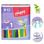 Bella Baby Newborn Nappies 2-5kg 42pc
