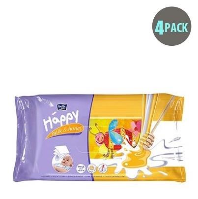 Bella Baby Happy Wet Wipes Milk Amp Honey Buy At Gotoddler