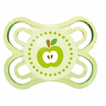 MAM Perfect Orthodontic Pacifier 0-4m - Apple