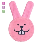 MAM Oral Care Rabbit Teething Cloth-Pink