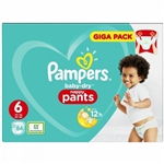 Baby Dry Pull Up Pants 15+kg Giga Pack (84 Pull Ups)