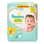Pampers Premium Protection Jumbo Pack 4-8kg (68 Nappies)