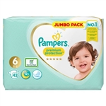 Premium Protection Jumbo Pack 13+kg (43 Nappies)
