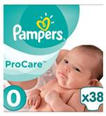 Pro Care Essential Nappies Size 0 1 5kg 2 5kg