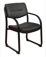 Regency Guest Chair - Crusoe Side Chair with Arms