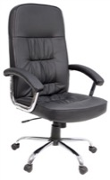 Regency - Office Chair - Carrera Black Leather