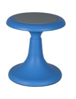 "Regency Classroom Seating - Glow 13"" Wobble Stool, Blue"