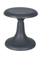 "Regency Classroom Seating - Glow 13"" Wobble Stool, Grey"
