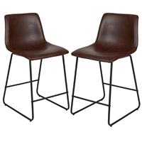 Leather Counter Stools