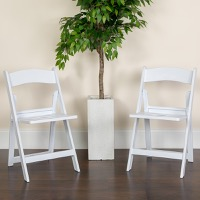 Folding Chairs Resin