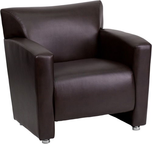 Charmant HERCULES Majesty Series Brown Leather Chair [222 1 BN GG]