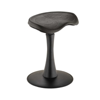 "Fidget Active Stool, 18""H, Black"