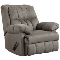 Grey Rocker Recliner