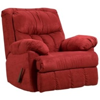 Red Brick Rocker Recliner