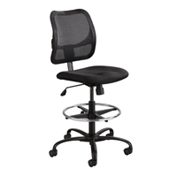 Vue Extended-Height Mesh Chair, Black