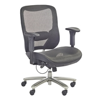 Big & Tall All-Mesh Chair, Black