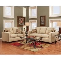Beige Living Room Set