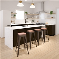 Metal/Wood Bar Height Stools