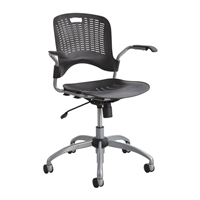 Sassy Manager Swivel Chair, Black