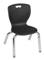 "Regency Classroom Chair - Andy 12"" Stack Chair"
