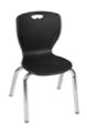 "Regency Classroom Chair - Andy 15"" Stack Chair - Black"
