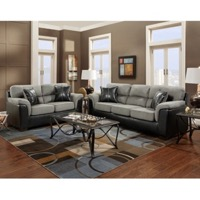 Graphite Living Room Set