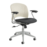 Reve Task Chair Round Back, Latte