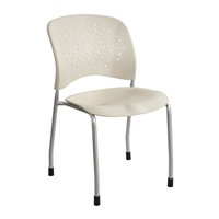 Reve Guest Chair Straight Leg Round Back (Qty. 2), Latte