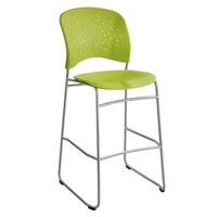 Reve Bistro-Height Chair Round Back, Green