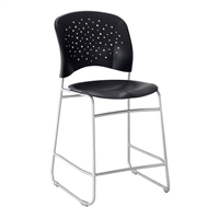 Reve Counter Height Chair, Black