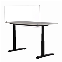 "Desktop Privacy & Wellness Panel - 59.5""W x 23.5""H"