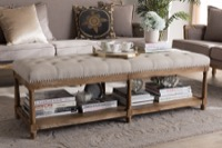 Living Room Furniture Benches & Banquettes