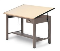 "Mayline Ranger Drawing & Drafting Table 48"" x 37 1/2"" - 7734A"