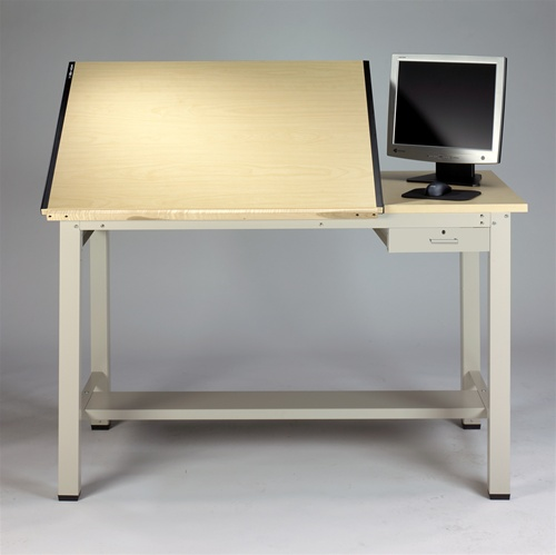 Mayline Ranger Steel Four Drawing amp Drafting Table 7772A