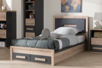 Kids Room Furniture Beds (Storage)