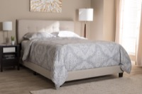 Bedroom Set Aubrey Upholstered Bed